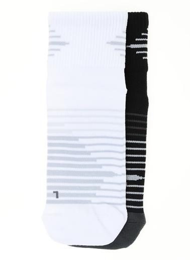 Nike Spor Çorap || 2'li Paket Renkli